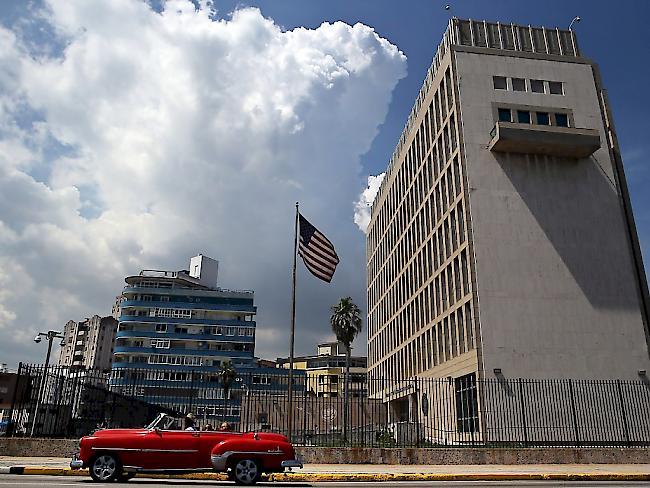 USA reduzieren Botschaftspersonal wegen