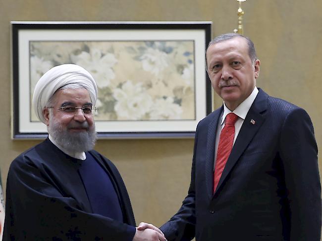 Erdogan kündigt Schließung von Luftraum und Grenzen zum Nordirak an