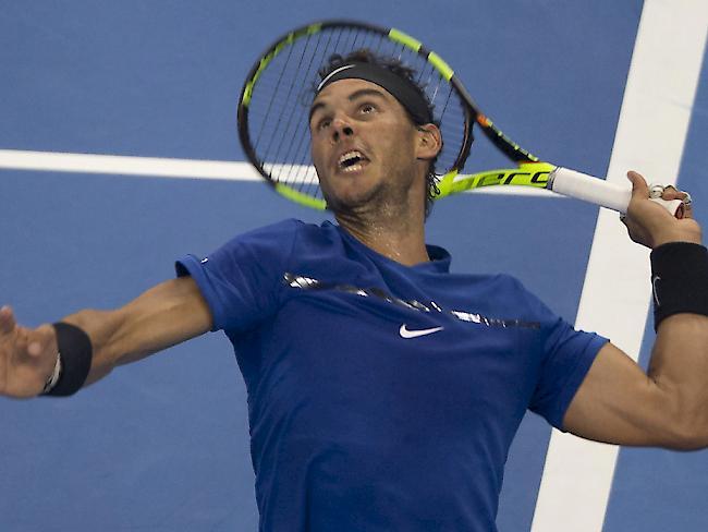Alexander Zverev löste mit dem Peking-Halbfinale London-Ticket