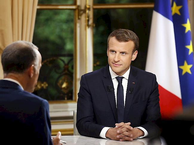Macron will Weinstein Orden der Ehrenlegion abnehmen lassen