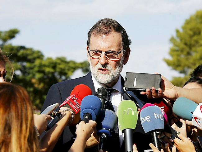 Rajoy treibt katalanische Separatisten in die Enge