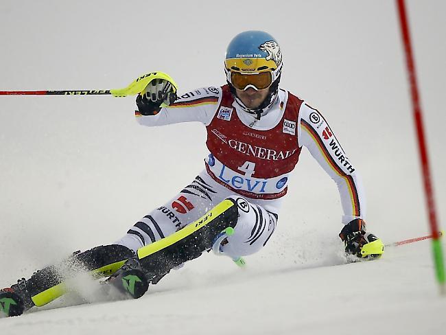 Ski alpin: Neureuther gewinnt Slalom in Levi, Hirscher wird 17