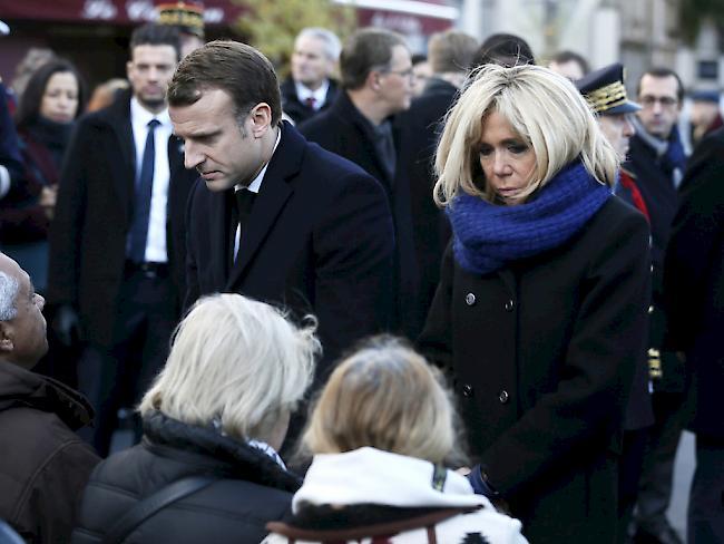 Zweiter Jahrestag Frankreich gedenkt der Opfer der Pariser Anschläge
