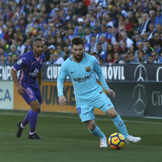Goldener Schuh: Lionel Messi dankt seinen Barcelona-Kollegen