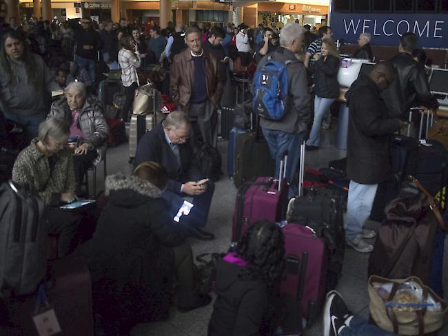 Stromausfall auf Flughafen Atlanta löste Chaos aus