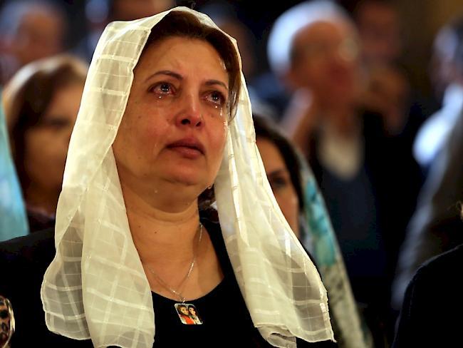 Schon neun Tote nach Angriff auf Kirche nahe Kairo