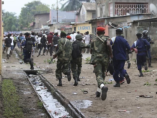 Kabila-Proteste: Tränengas gegen Gottesdienstbesucher
