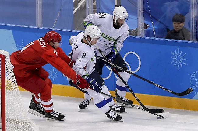 Nächster Dopingfall: Slowenischer Eishockey-Crack positiv getestet