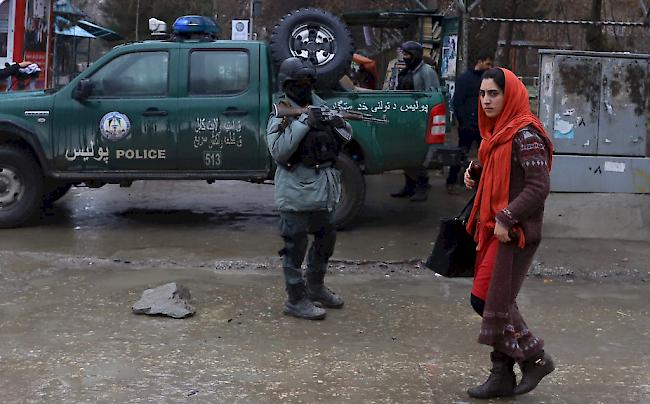 Anschlagserie. Die Lage ist derzeit sehr unruhig in Afghanistan