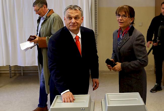 Ungarn wählt - und alles spricht für eine dritte Amtszeit für Viktor Orban