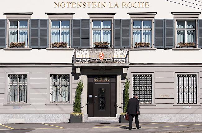 Raiffeisen verkauft Privatbank Notenstein