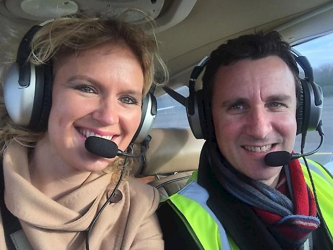 Komonist Goldstein und seine Familie sterben bei Flugzeug-Crash in der Schweiz